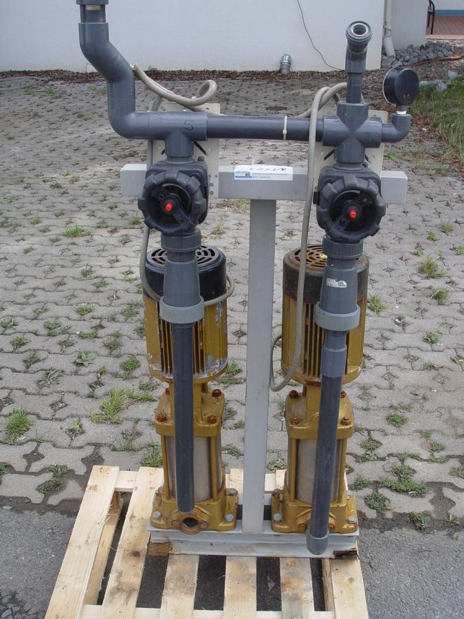 Gebrauchte gebrauchtes gebrauchter pumpenstation for Pumpen und verdichter
